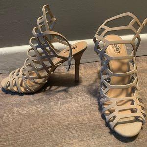 Simple Tan Heels